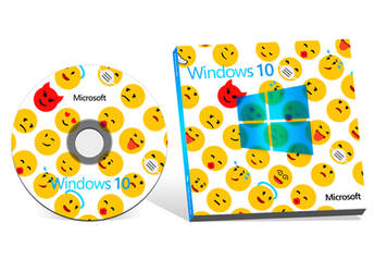 Windows 10 Box Art by MetroUI