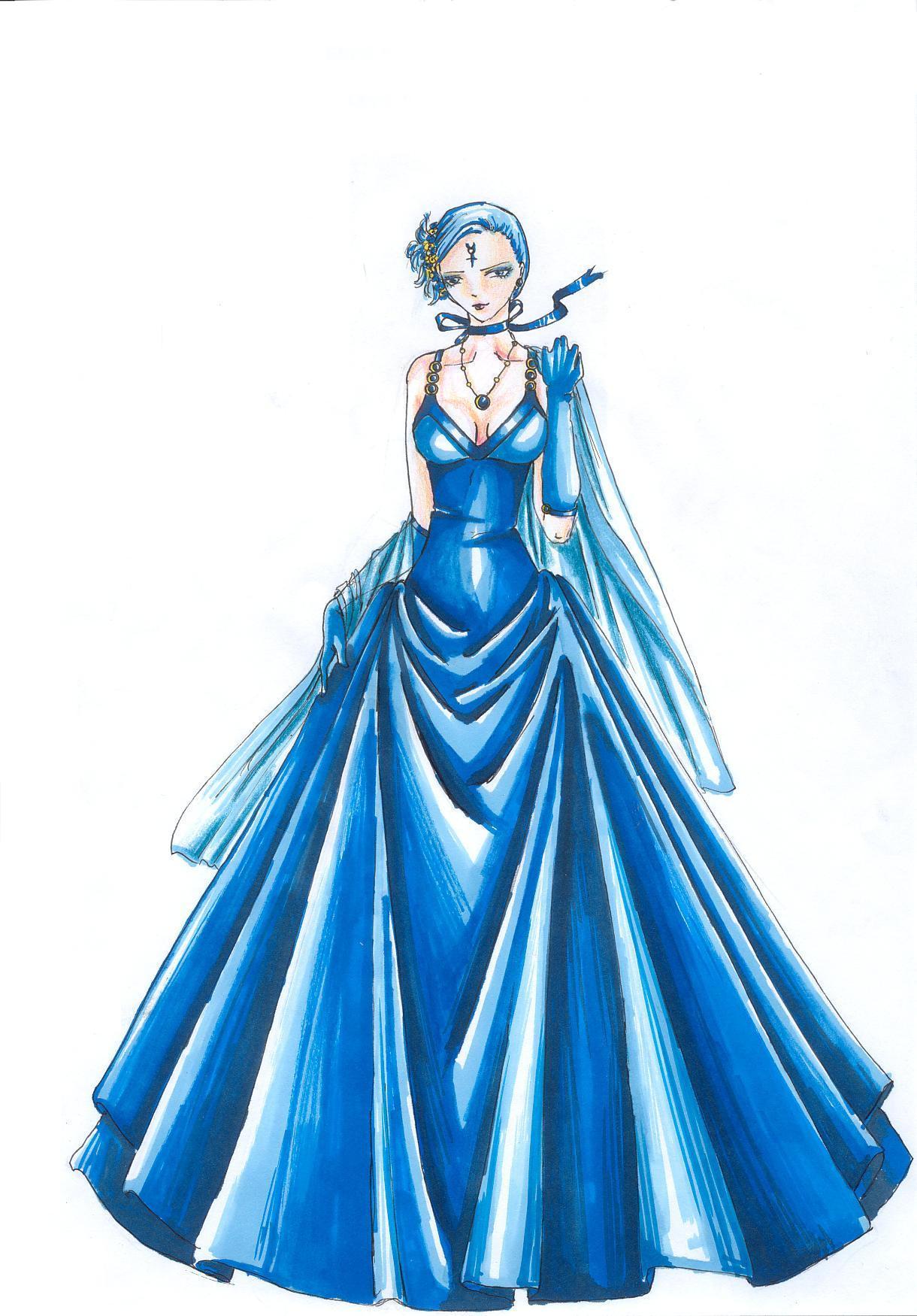 Blue dress by MimmyvonMerkur on DeviantArt