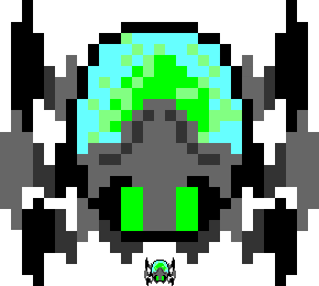 Giant pixel cybug by ForeverGuard