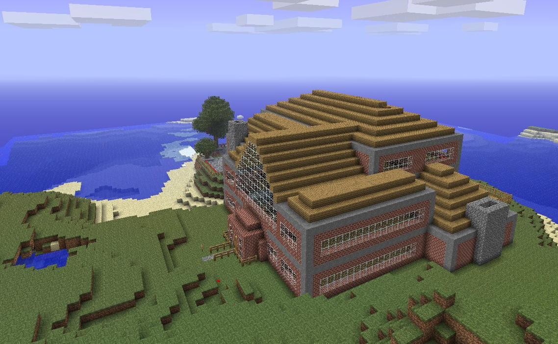 Minecraft Big Mansion