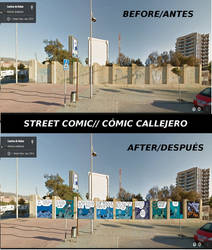 Comic Ideas: Street Comic/Comic Callejero