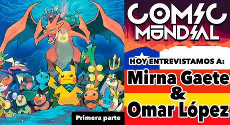 Comic Mundial 6.1 Pokemon, animacion y fancomic