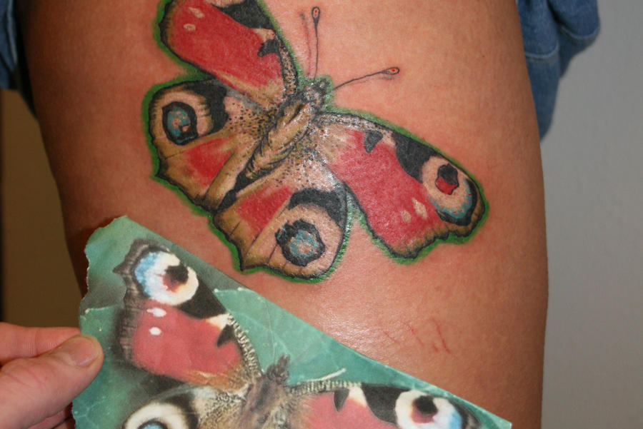 e9eaab8e26b99 realistic butterfly tattoo by siONEproduktions on DeviantArt