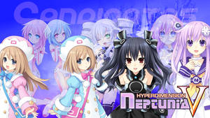 Neptunia V - Wallpaper 38