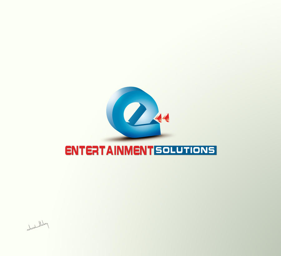 Entertainment Solutions logo by eltolemyonly