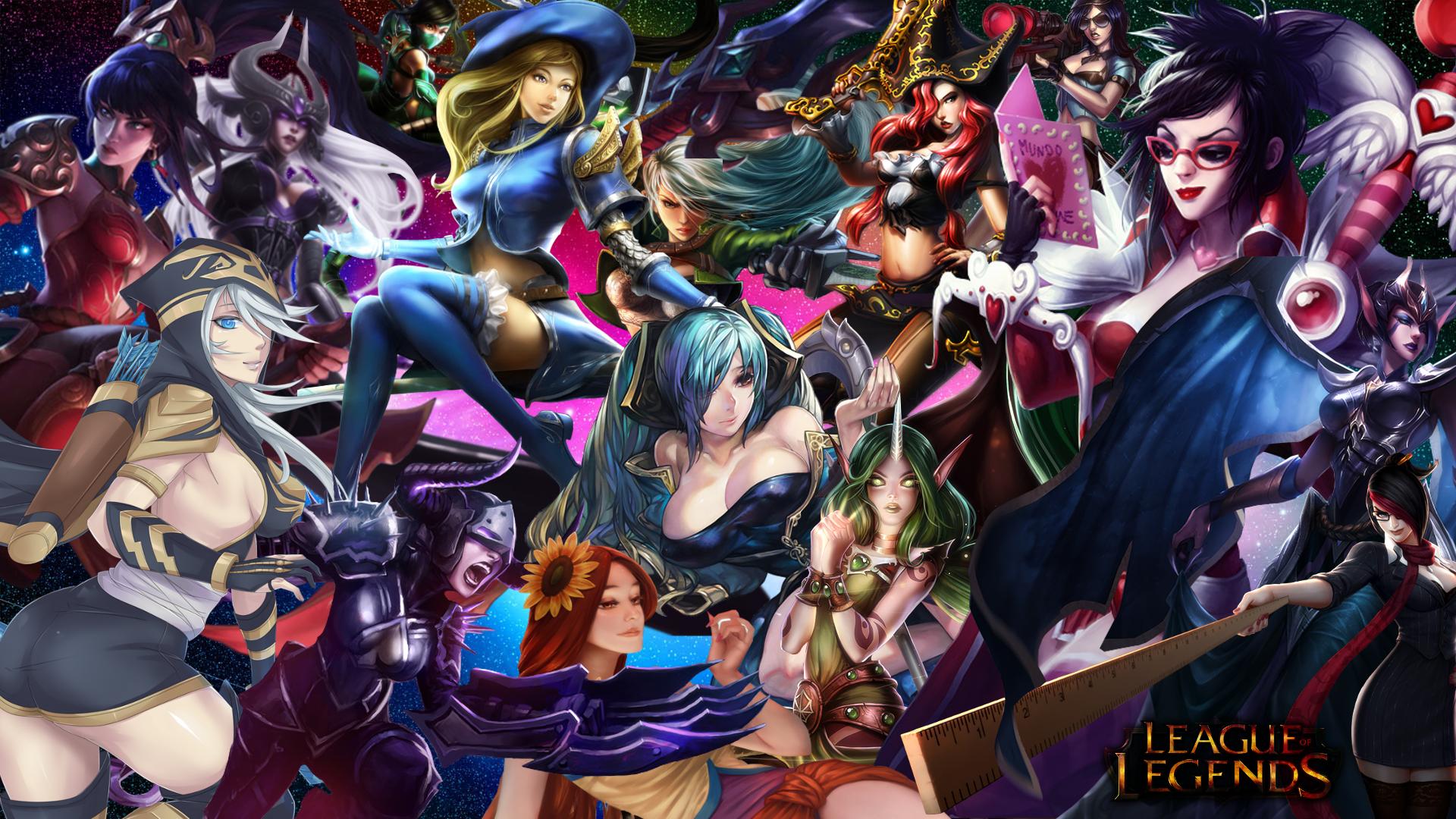 League Of Legends Girls