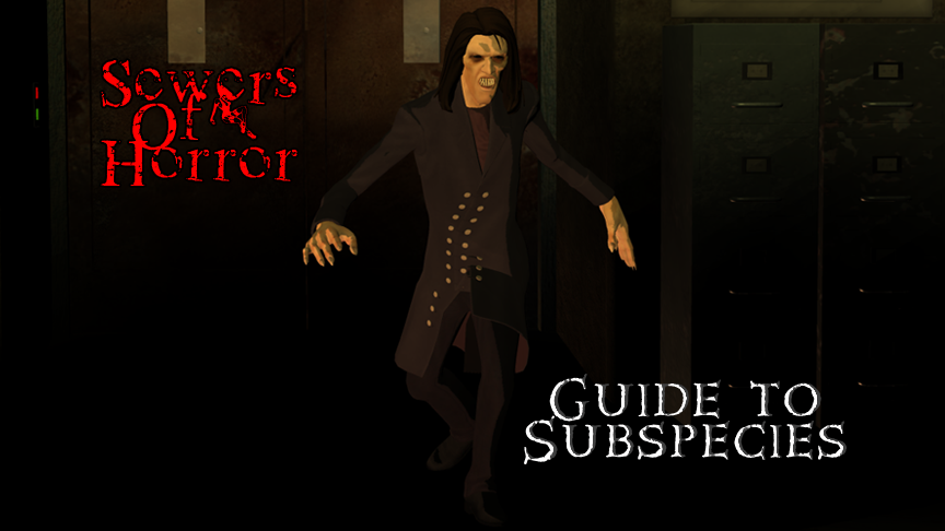Sewers Of Horror - Guide to Subspecies title card by Nastrodamus666