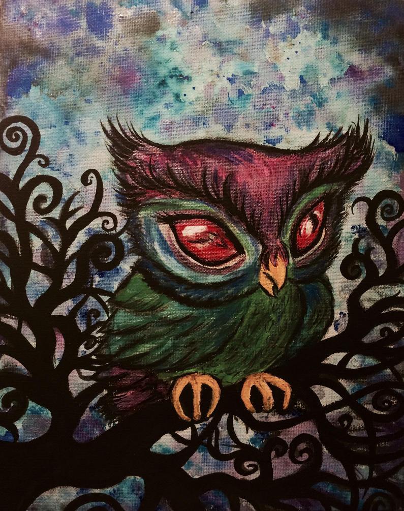 Owl by samara-black