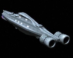 Liberty Destroyer WIP 2