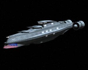 Liberty Destroyer WIP 1