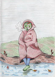 Grumpy Goblin by kaidendunn
