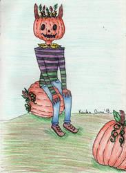 Pumpkin Demon 2.0 by kaidendunn