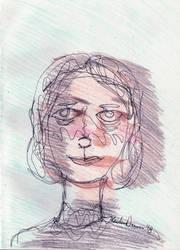 Mary Shelley by kaidendunn