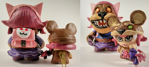 Reverse Annie and Tibbers Customs (leagueoflegends