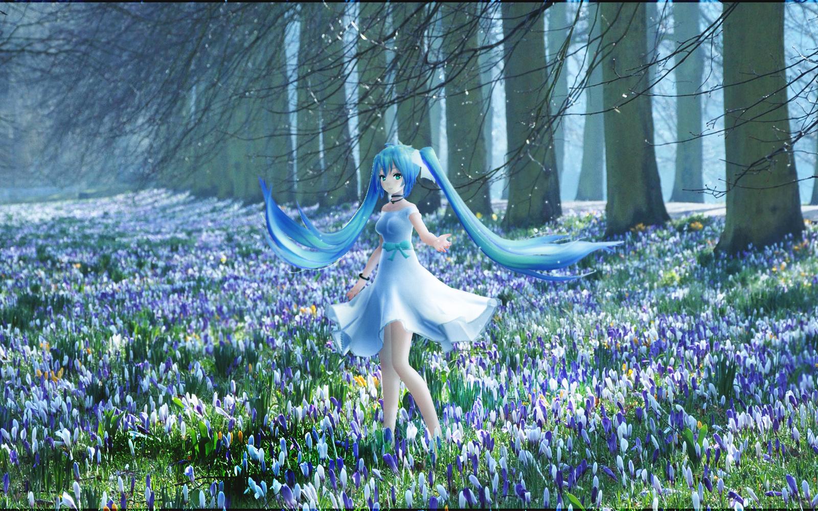 Flower field by Fan-kot