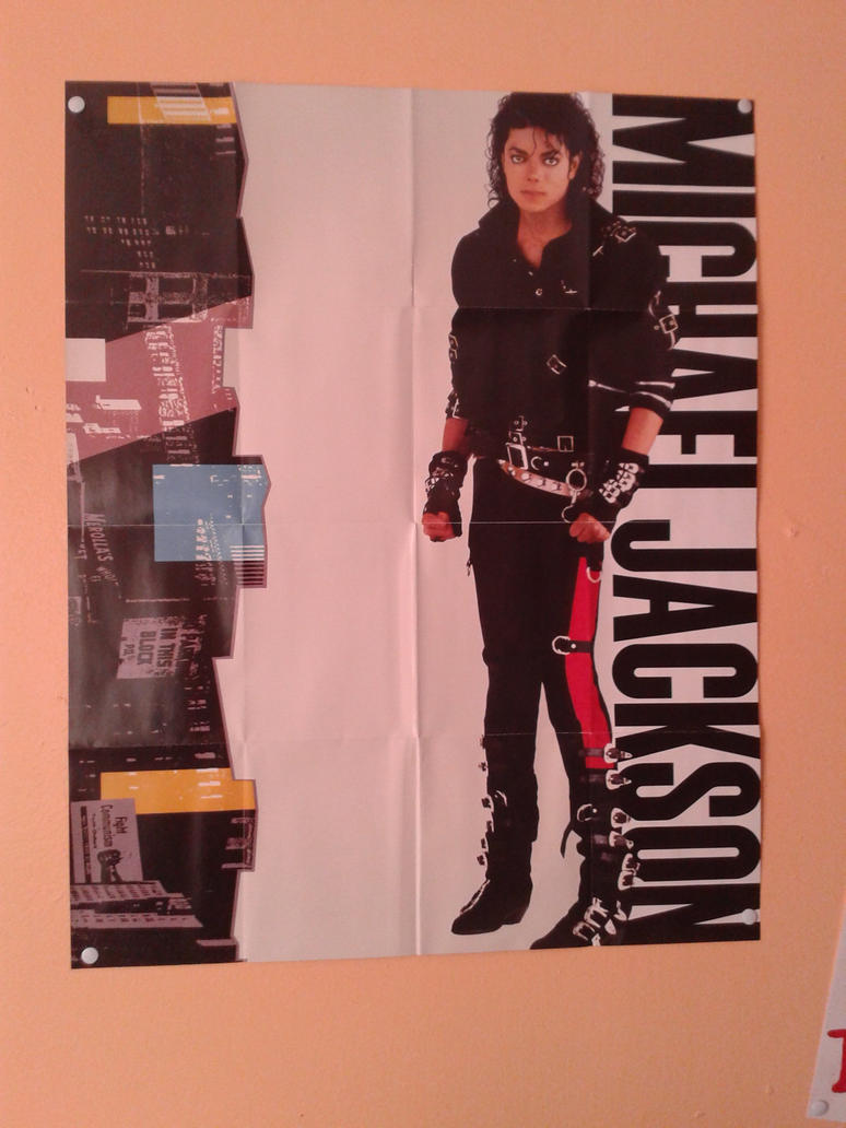 My BAD Poster by Forever-MJ