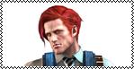 Resident Evil Revelations Stamp - Raymond Vester by ShiningRayWolf