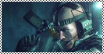 Resident Evil Revelations Stamp - Quint Cetcham by ShiningRayWolf