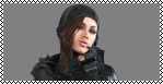 Resident Evil Revelations Stamp - Jessica Sherawat by ShiningRayWolf