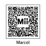 3DS Mii - Marcel the Wooper by ShiningRayWolf
