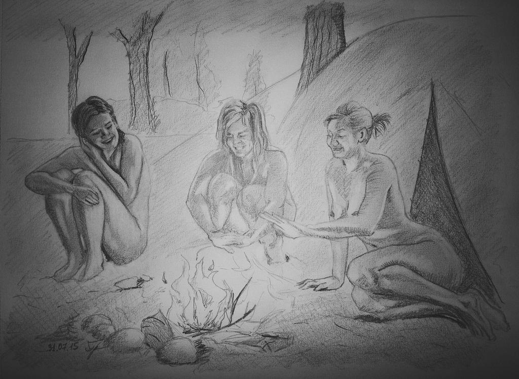 Girls tourists by Arts82