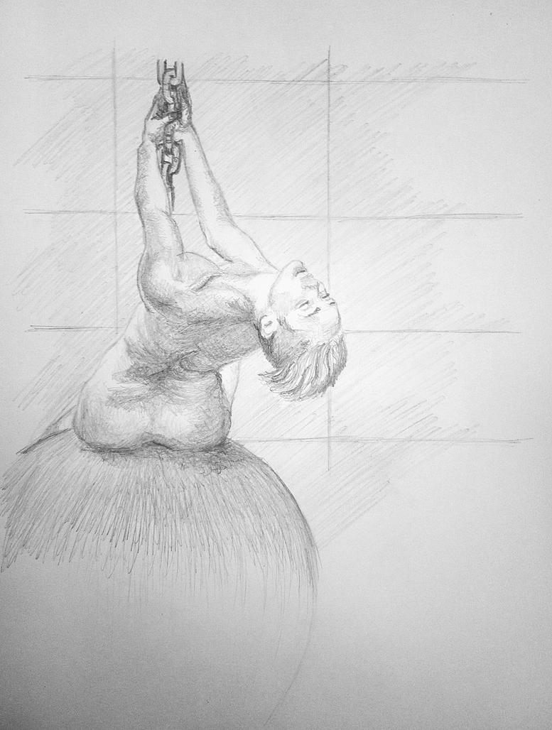 Miley Cyrus Wrecking ball by Arts82