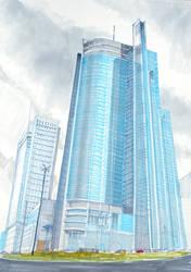 Skyscryper by Gopalik