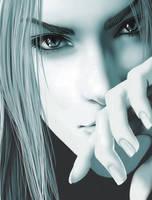 Sephiroth by rikkaemogirl
