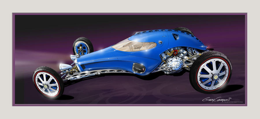 Bugatti Rod by GaryCampesi