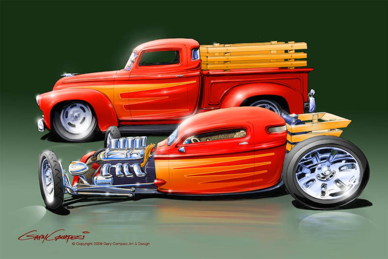 GaryCampesi Hot Rod Art