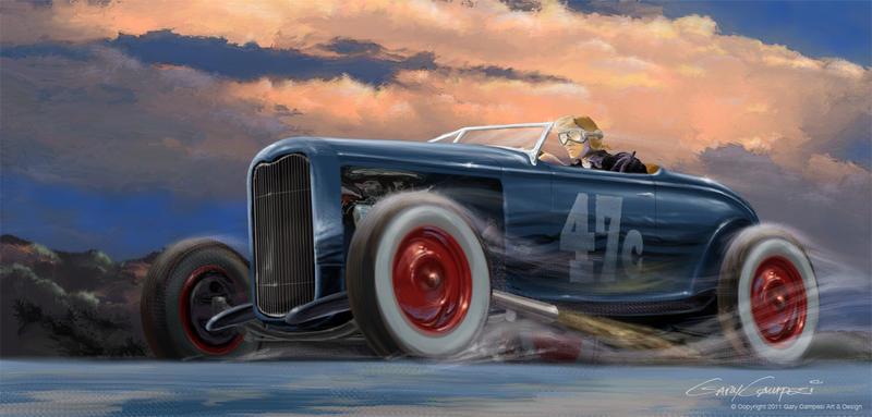 1932 Ford Jalopy by GaryCampesi