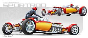 Harley Davidson SportRod by GaryCampesi