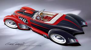 1936 Ford Luxury Cruiser by GaryCampesi