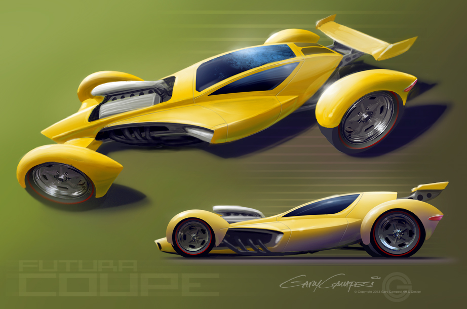 Concept Coupe by GaryCampesi