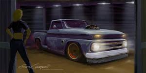 65 Chevy Truck by GaryCampesi