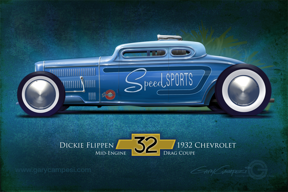 Speed Sport 1932 Chevy Drag Coupe by GaryCampesi on DeviantArt