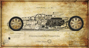 Steampunk Streamliner