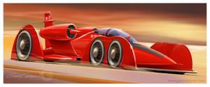 Steampunk Jet by GaryCampesi