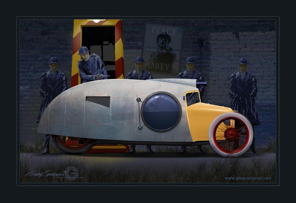 The High Treason Car by GaryCampesi