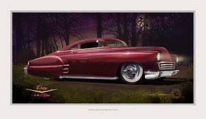 1950 Chevrolet Lead Sled Kustom by GaryCampesi