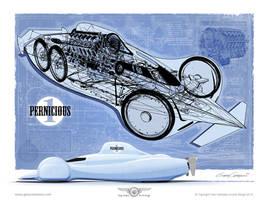 Fantasy Streamliner by GaryCampesi