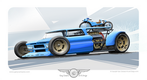 1965 Chevy Short Bed Cycle Hauler by GaryCampesi
