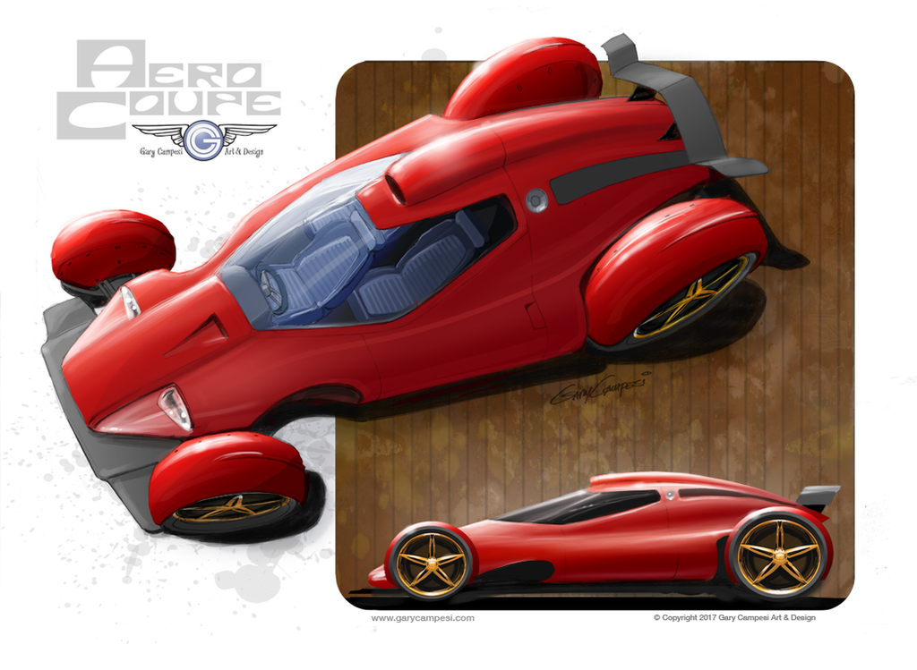 Aero Coupe by GaryCampesi
