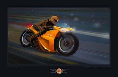 McLaren Motorcycle by GaryCampesi