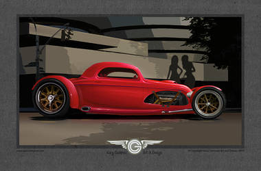 Streamlined Coupe by GaryCampesi