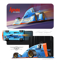 Keel Concept Racer by GaryCampesi