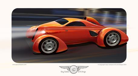 Aero Coupe based on Zephyr styling by GaryCampesi