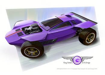 Custom Dune Buggy by GaryCampesi
