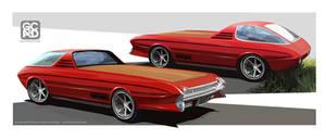 Pacer-Olds Custom Pickup