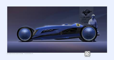 Citroen Le Petite Rosalie Roadster futurized by GaryCampesi